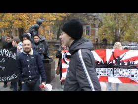 Embedded thumbnail for Бенефис Руслана Джаббарова на митинге антифашистов